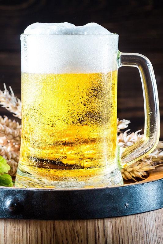 Fond de cuves de bière